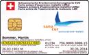 Beispiel Versicherungskartennummer